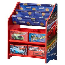 Disney Pixar Cars Book & Toy Organizer