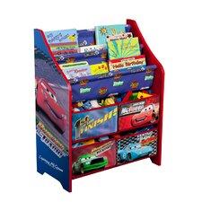 Disney Pixar Cars Book & Toy Organizer