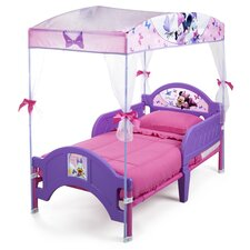 Disney Minnie Mouse Bow-tique Toddler Bed with Canopy