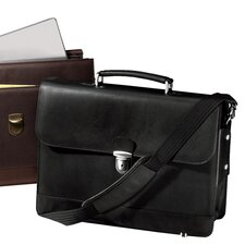 Metro Leather Laptop Briefcase