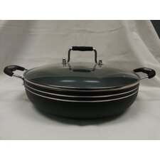 "Imperial Healthy Choicel 12"" Frying Pan with Lid"