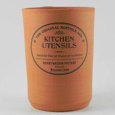 Original Suffolk Terracotta Utensil Jar