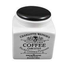 Charlotte Watson 32-Ounce Coffee Canister