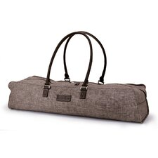 Metro Yoga Bag in Brown / Brown