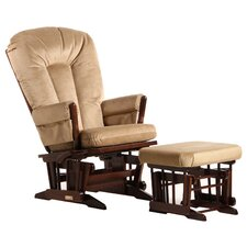 Ultramotion Two Post Nursing Glider and Ottoman