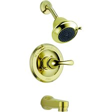 Tub and Shower Faucet Trim with Lever Handles