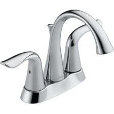 Lahara Two Handle Centerset Lavatory Faucet with Pop-Up Drain
