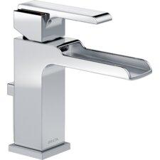 Ara Single Handle Centerset Lavatory Faucet with Channel Spout and Pop-Up Drain