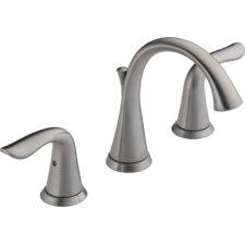 Lahara Double Handle Widespread Bathroom Faucet
