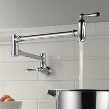 Delta Double Handle Wall Mount Other Pot Filler Faucet
