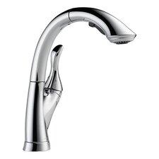 Linden Single Handle Deck Mounted Kitchen Faucet