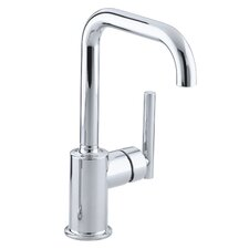 "Purist Single-Hole Kitchen Sink Faucet with 6"" Spout"