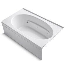 """Windward Alcove 72"""" x 42"""" Whirpool Bathtub"""