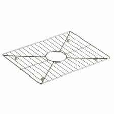 "Poise Stainless Steel Sink Rack, 17-3/16"" x 13-3/16"", for Kitchen Sink"