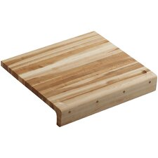 "Universal Hardwood 18"" x 16"" Countertop Cutting Board"