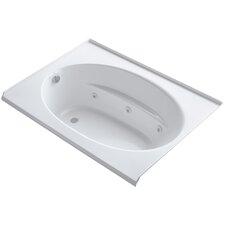 """Windward Alcove 60"""" x 42"""" Whirpool Bathtub"""