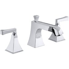 Memoirs Stately Deck-Mount Bath Faucet Trim for High-Flow Valve with Diverter Spout and Deco Lever Handles, Valve Not Included