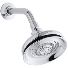 Fairfax 2.5 GPM Multifunction Wall-Mount Shower Head with Masterclean Spray Nozzle