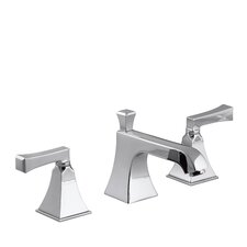 Memoirs Widespread Bathroom Sink Faucet with Deco Lever Handles