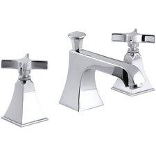 Memoirs Widespread Bathroom Sink Faucet with Cross Handles