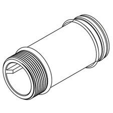 """Commercial 3-1/2"""" Supply Extension Nipple"""
