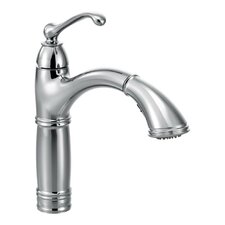 Brookshire Single Handle Single Hole Kitchen Faucet