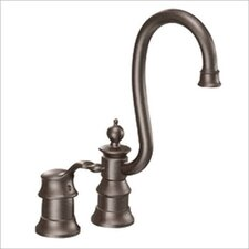 Waterhill Single Handle Bar Faucet in Oil Rubbed Bronze