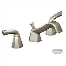 Felicity Widespread Bathroom Faucet in Brushed Nickel