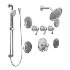 Exact Temp Complete Shower System with Lever Handle