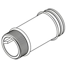 """Commercial 6"""" Supply Extension Nipple"""