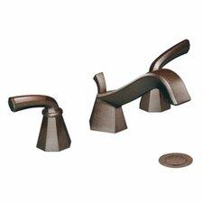 Felicity Double Handle Widespread Low Arc Bathroom Faucet