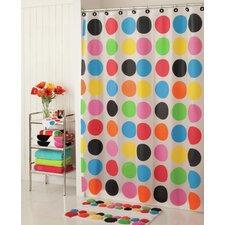 Multi Dot PEVA Shower Curtain