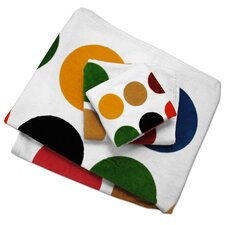 Multi Dot Printed Hand Towel
