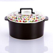 Ziggy Super Cooker 1.9-qt. Ceramic Round Dutch Oven