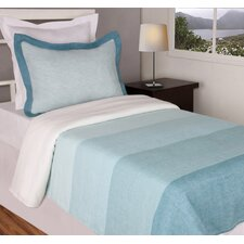 Jovi Home Capri Aqua Coverlet Cover Set