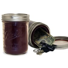 Ball Brand Hidden Screw Top Jar Safe
