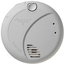 Smoke Alarm with Photoelectric Sensor and Battery Backup