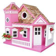 Classic Series Sea Cliff Cottage Freestanding Birdhouse