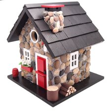 Cottage Charmer Series Windy Ridge Freestanding Bird House