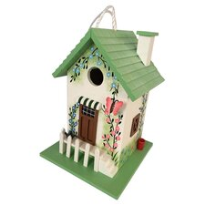 Hatchling Series Butterfly Cottage Hanging Birdhouse
