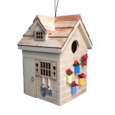 Potting Shed Hanging Birdhouse