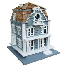 Victorian Birdhouse with Mansard Roof