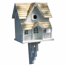 Classic Series Gingerbread Cottage Birdhouse with Bracket