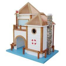 Designs By Ken Sobel Lake House Freestanding Birdhouse