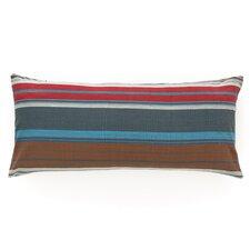 Chalet Stripe Cotton Boudoir/Breakfast Pillow