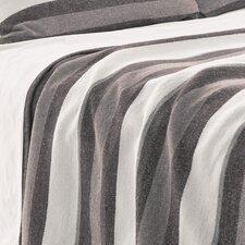 Montego Stripe Chenille Cotton Blanket