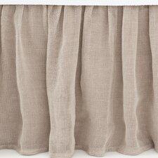 Linen Mesh Bed Skirt