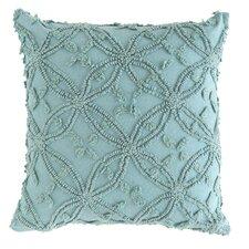 Candlewick Cotton Throw Pillow