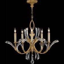 Beveled Arcs 5 Light Chandelier