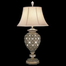 "A Midsummer Nights Dream 38"" H Table Lamp with Bell Shade"